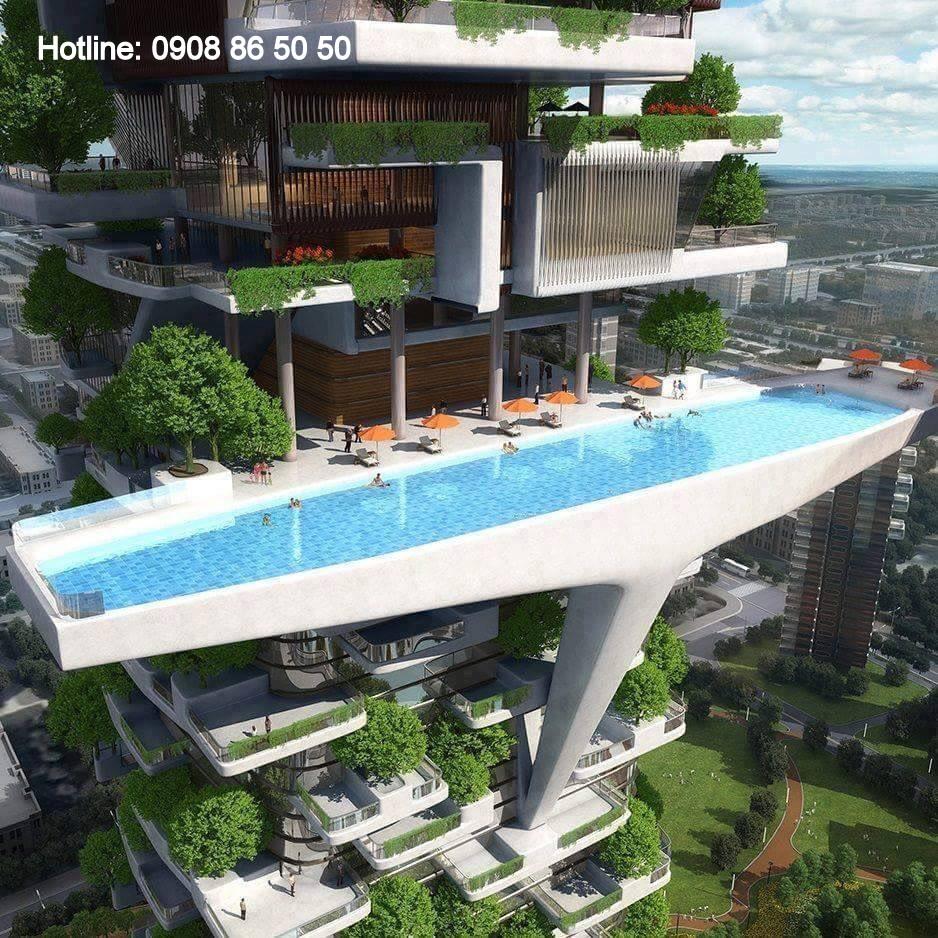 Dự án căn hộ The Lofts Riviera Point quận 7 by Keppel Land Singapore.