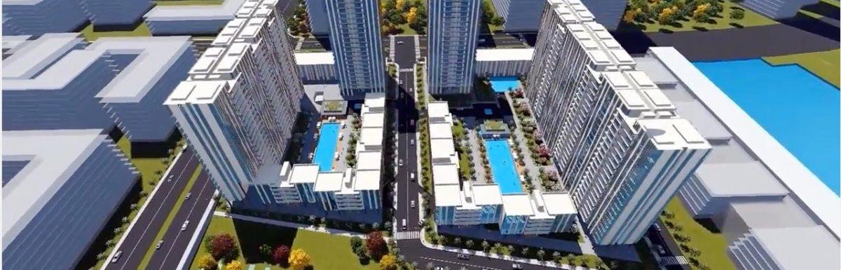 Phối cảnh dự án căn hộ Thủ Thiêm Riverin Park quận 2.