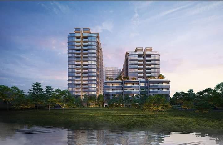 Phối cảnh dự án căn hộ The Riverin Park Thủ Thiêm tại quận 2.