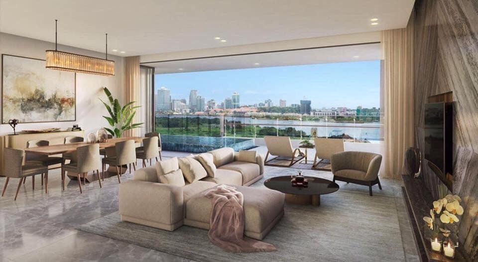 Dự án căn hộ The Riverin Thủ Thiêm quận 2 - Căn hộ Thủ Thiêm River Park 4.