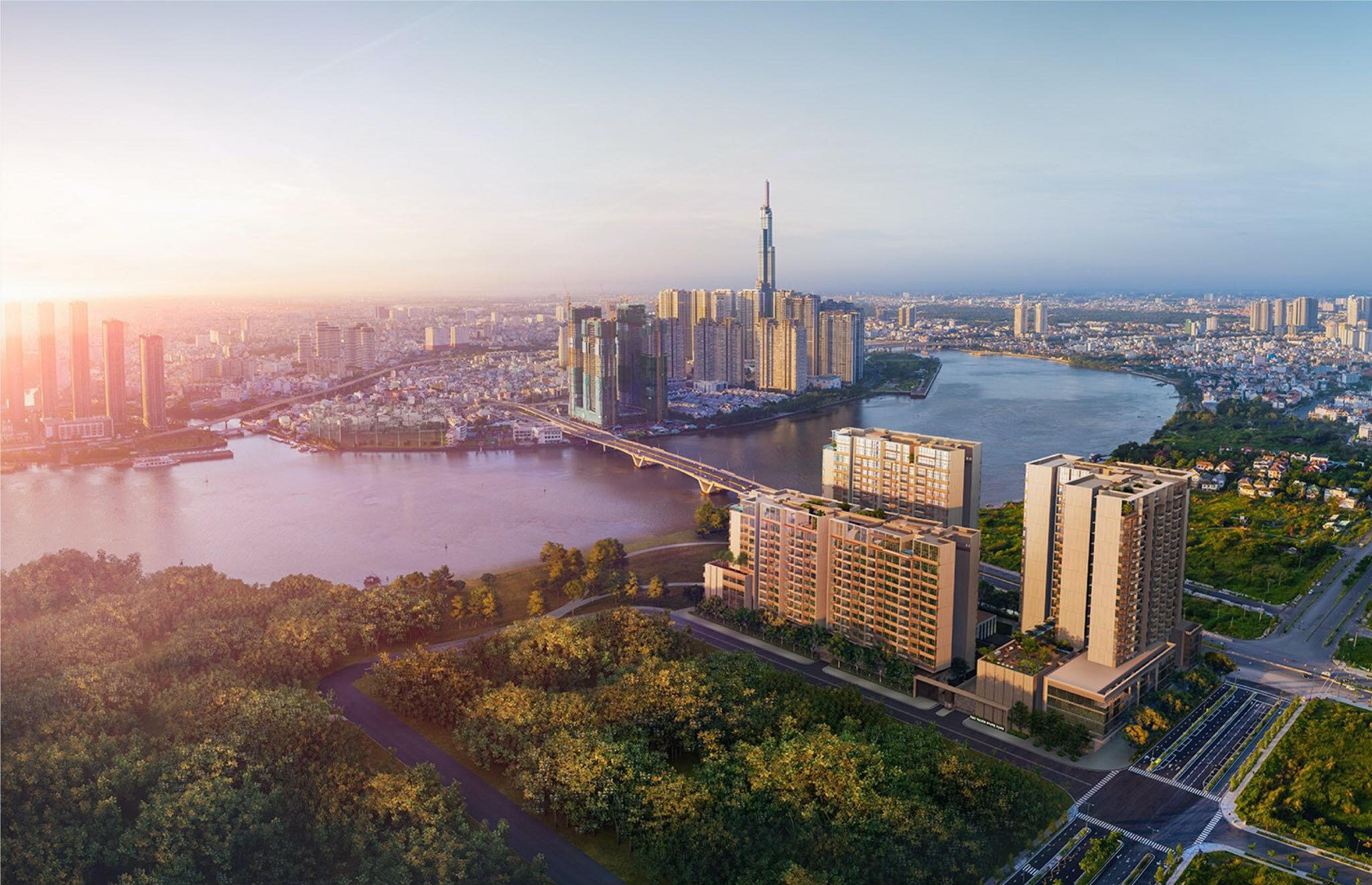 Dự án căn hộ The River Thủ Thiêm quận 2 - Căn hộ Thủ Thiêm River Park.