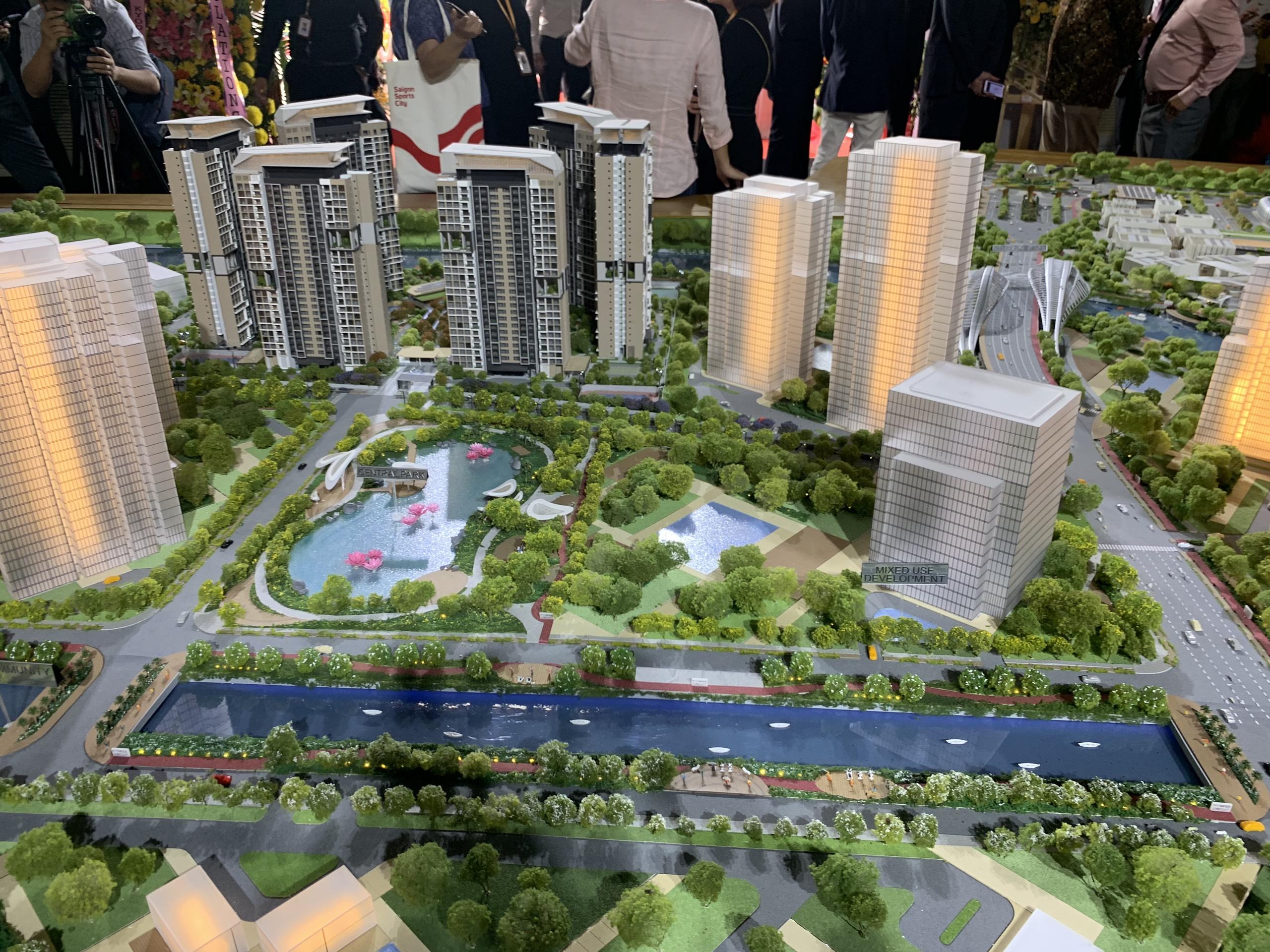 Dự án Căn hộ Velona Keppel Land - Saigon Sports City quận 2.
