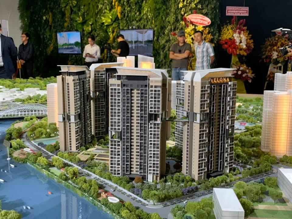 Dự án căn hộ Velona quận 2 tại Saigon Sports City - Keppel Land.