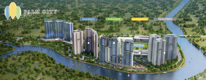 Dự án căn hộ Palm Spring quận 2 - KĐT sinh thái Palm City Keppel Land.