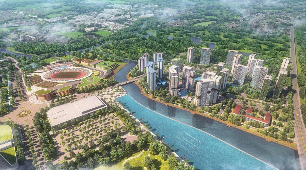 Phối cảnh dự án căn hộ Velona quận 2 - Saigon Sports City Keppel Land.