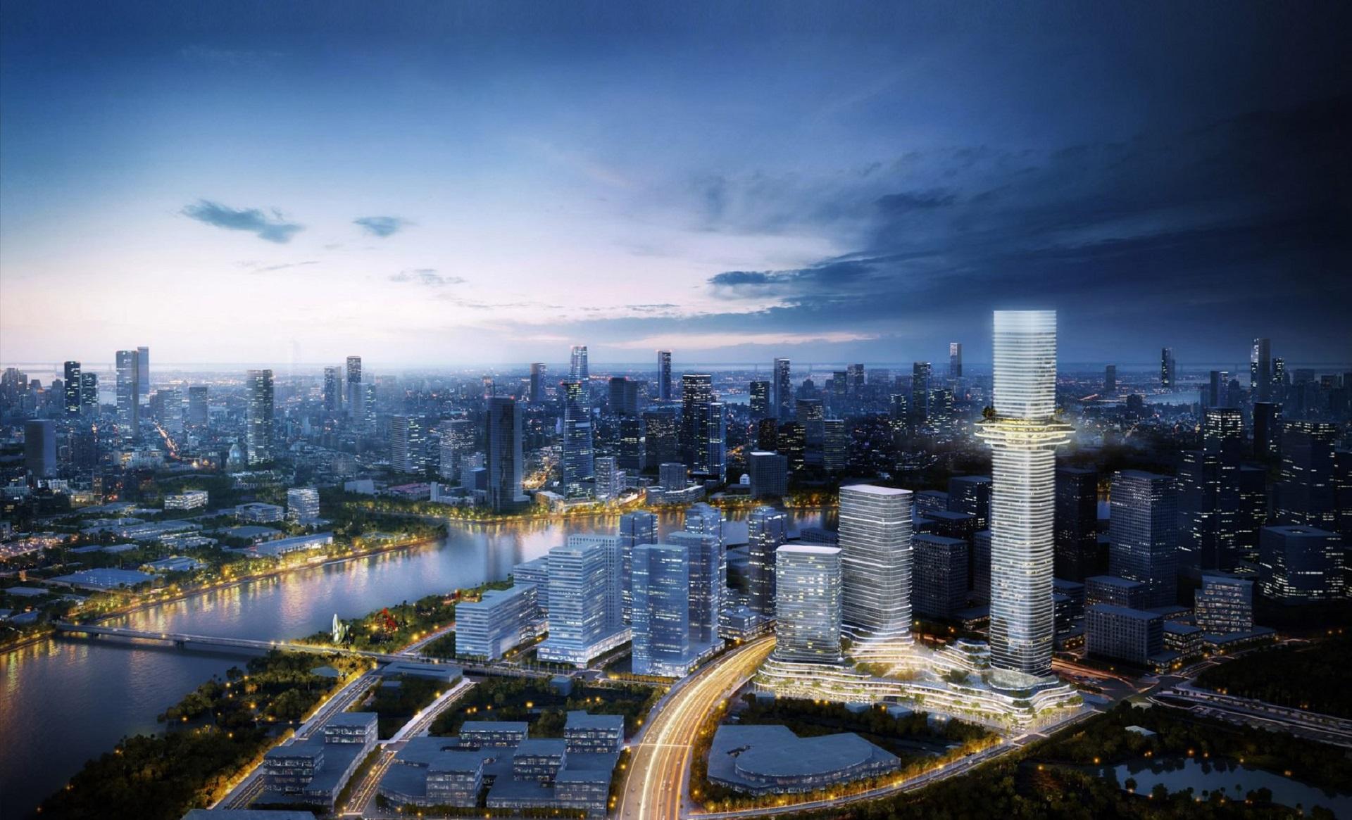 Dự án căn hộ Empire City Thủ thiêm tại quận 2, thành phố Thủ Đức, Tp.HCM.